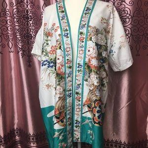Real vintage Japanese kimono free size